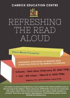 Refreshing the Read Aloud (3rd - 6th Classes) - 20LCSP39